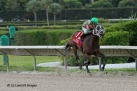 Scandalous Act (FL) with jockey Antonio Gallardo on board wins the Susan's Girl Division of the Florida Stallion Stakes Series II IMG_SA4873B